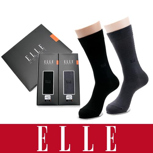 [엘르] 엘르 옴므 신사양말2족세트[고신축 사계절용]