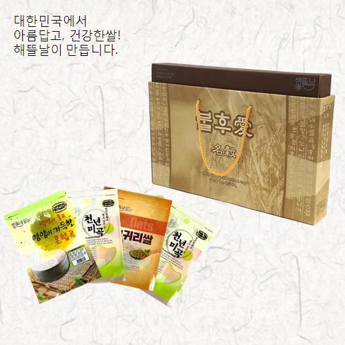 [해뜰날]불후애명곡 2호/현미+찰흑미+귀리+웰빙15곡 각500g
