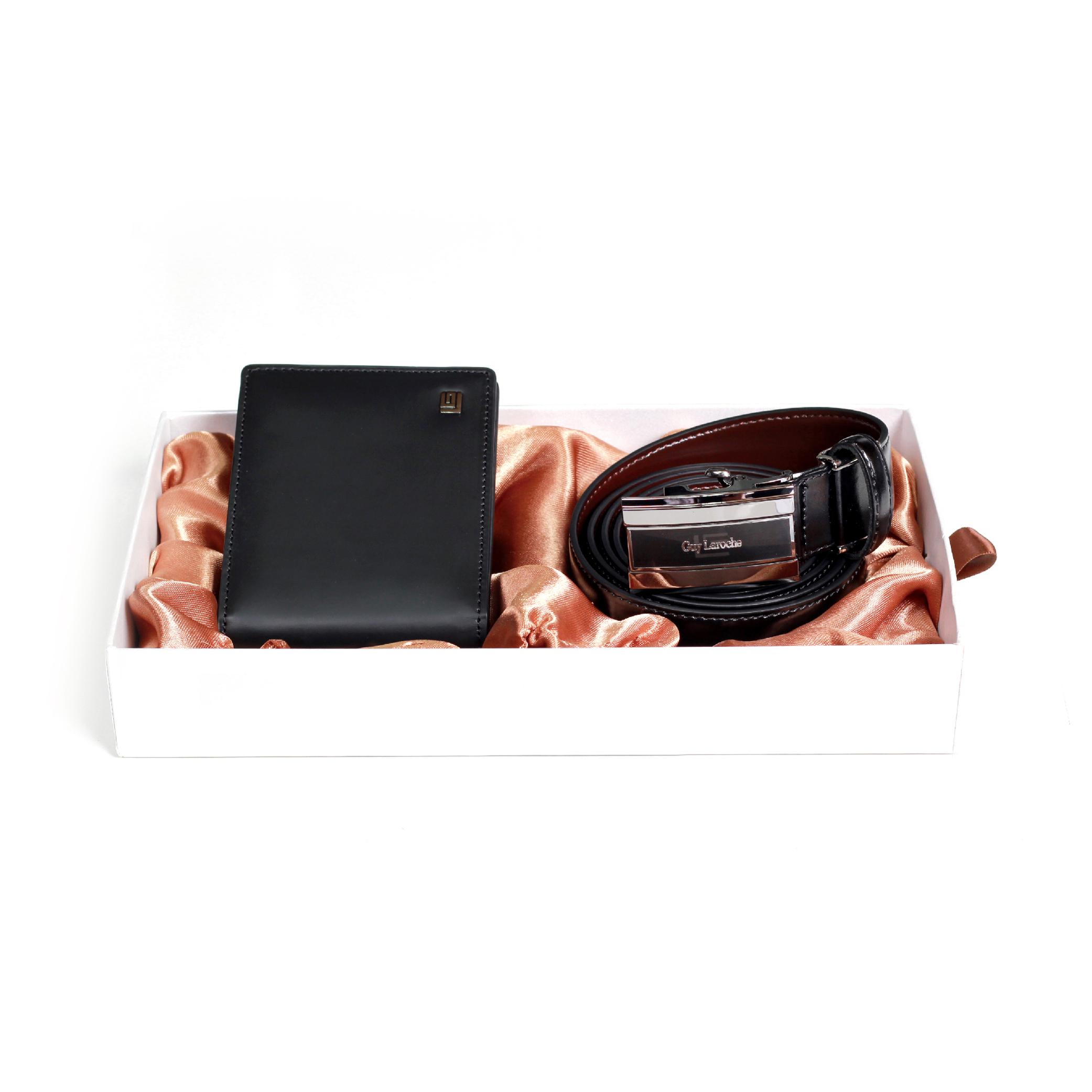 Guy Laroche  투명창반지갑 + 자동벨트 선물세트GL-BM-003 GL-BT-010