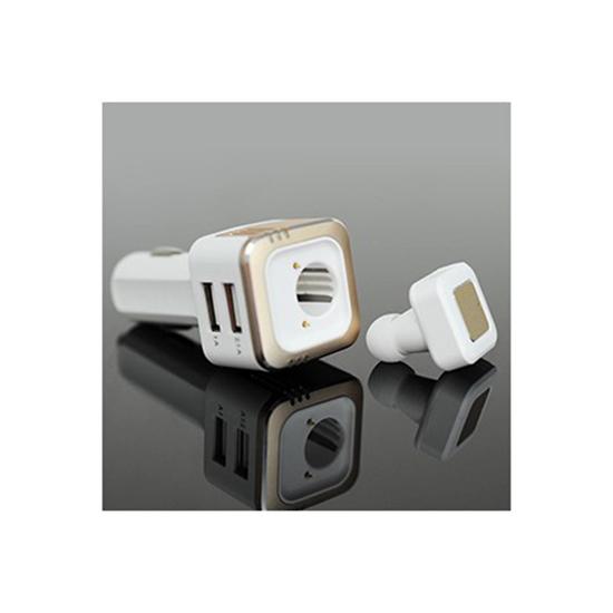 아이담 3in1 차량용 충전기+이어셋+청정기 BE-20
