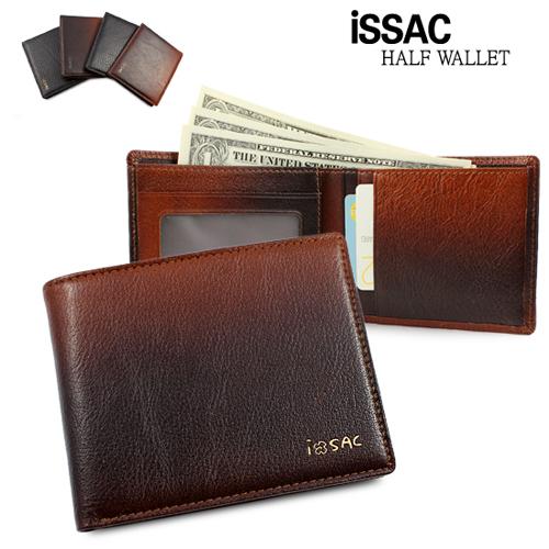 [ISSAC]아이삭 고급 남성 반지갑 SNIM-3-003