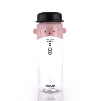 [네오플램]트라이탄 원숭이 캐릭터 리보틀 물병 500ml