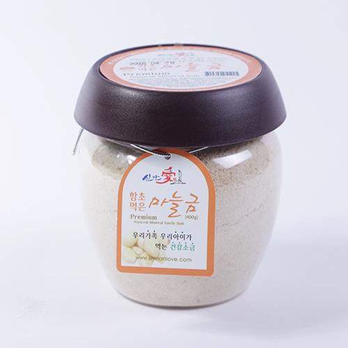 [신안애]마늘소금 (고운,400g)