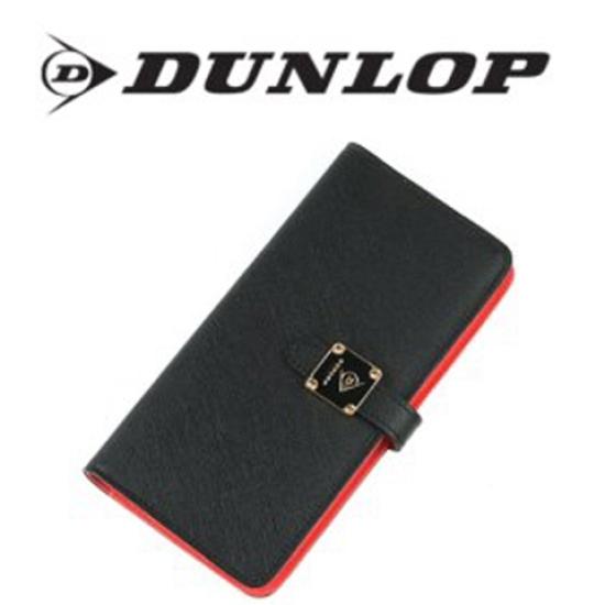 [DUNLOP]던롭 송아지가죽 카드지갑 BLACK&RED