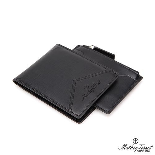 [메티티솟]반지갑+지퍼형 카드지갑 2종 세트 TMG1B2123BK TMG1C2124BK /2017년 신상품