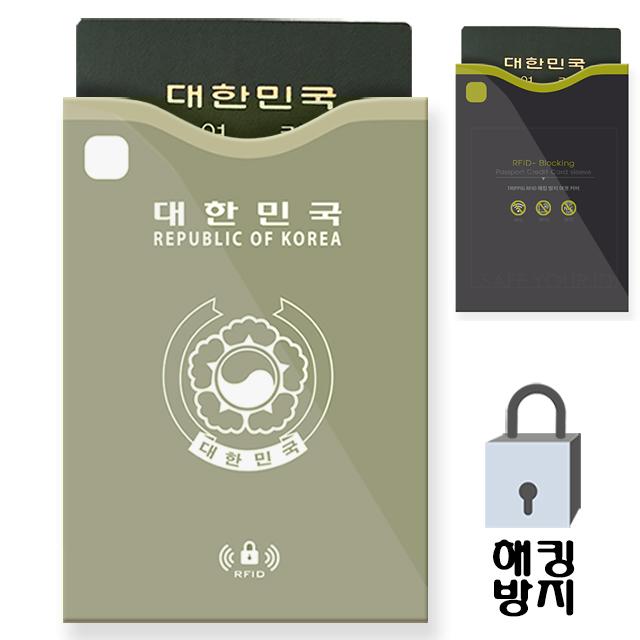 트리피그 RFID해킹방지 여권케이스