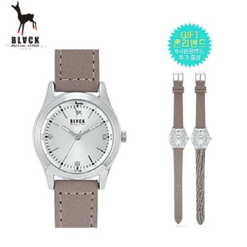 [블랙마틴싯봉]여성 패션 손목 시계+밴드 추가증정 BKL1650L(색상 택1)