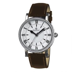 벨카리노 라인엠보라운드 화이트 남녀공용 손목시계 [BC6150]
